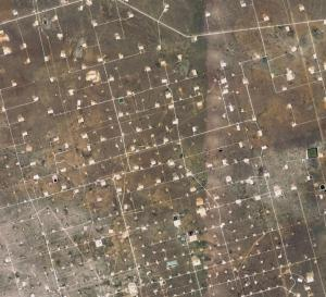 Shale Field in Texas (credit: Google Maps)