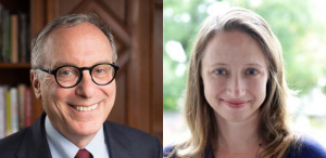 Johnathan Lear, John U. Nef Distinguished Service Professor in the Committee on Social Thought and the Department of Philosophy, and Tara Zahra, a professor in the Department of History and the College