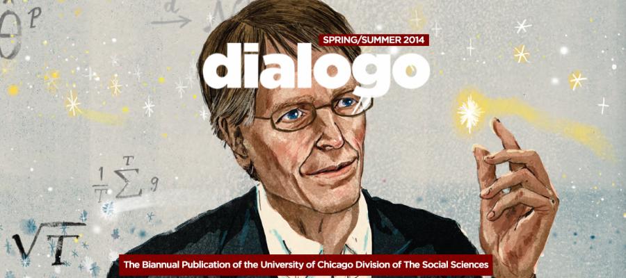 illustration of Prof. Lars Hansen
