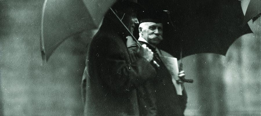 Evolution of a Division: Celebrating the Social Sciences in a Milestone Year. Harry Pratt Judson (right), president of UChicago (1907-23).