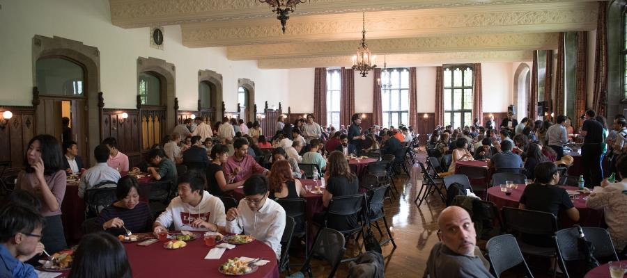 The event was held at Ida Noyes Hall. Nearly 300 guests enjoyed the afternoon.
